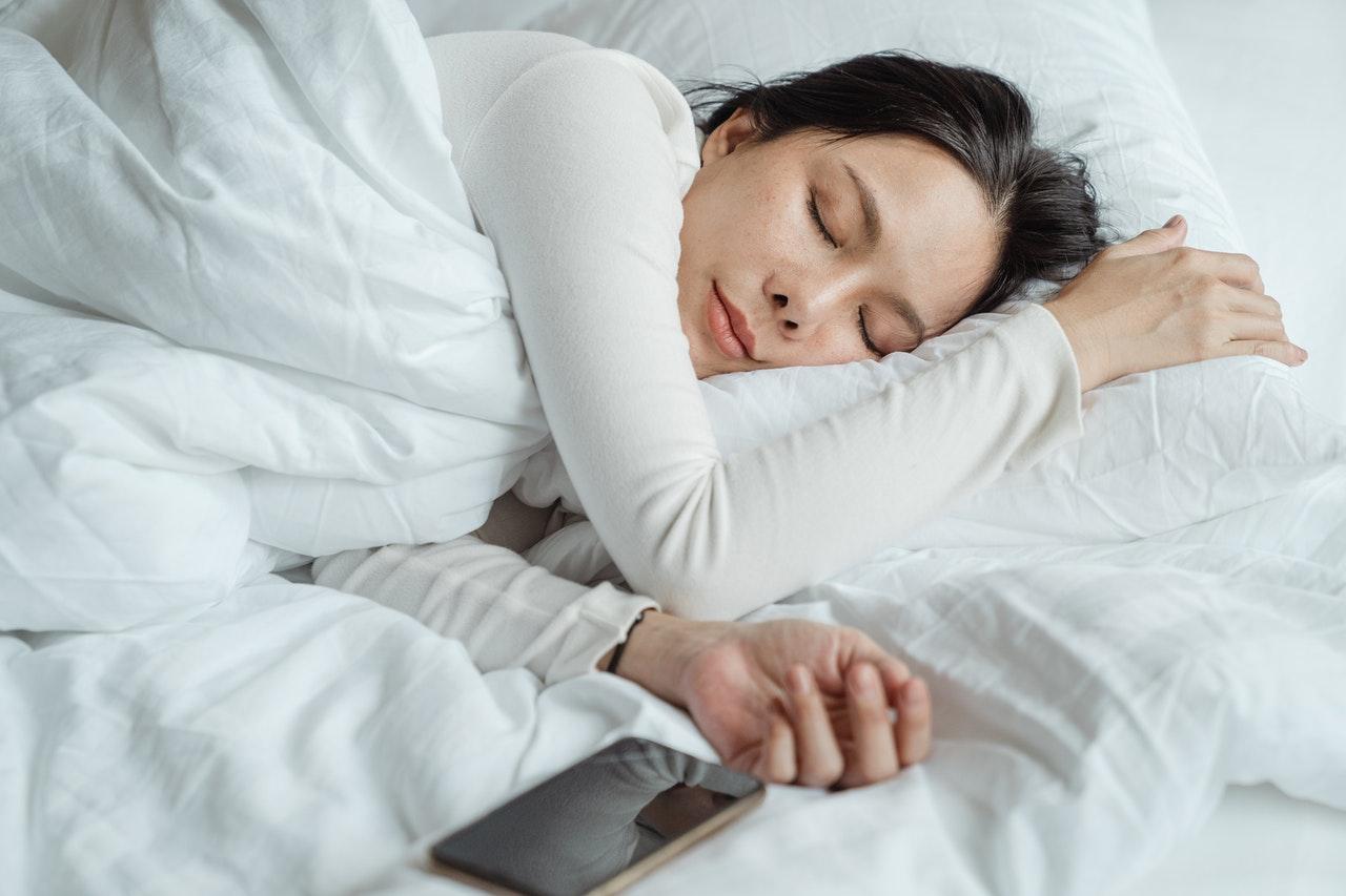 slapen mobiel