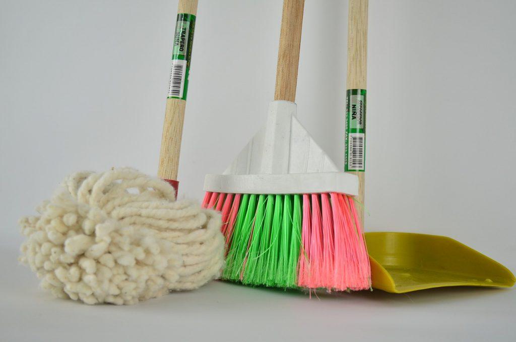 schoonmaakvoorwerpen